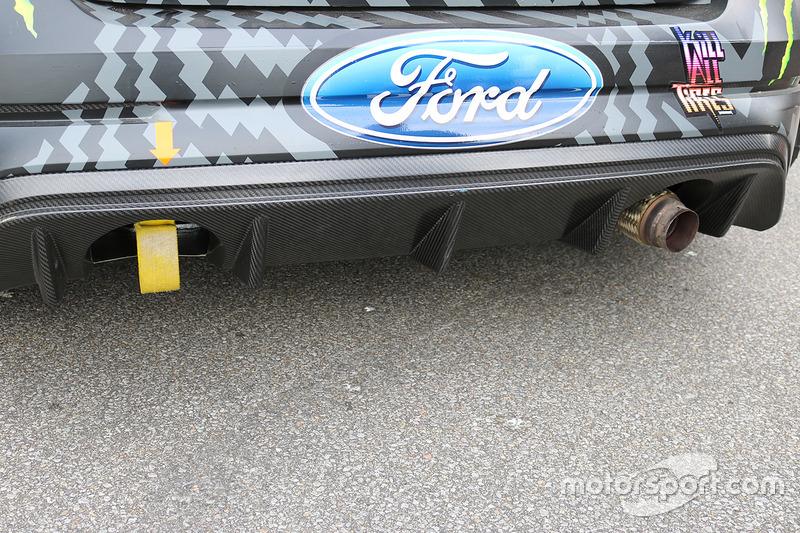 Hoonigan Racing Division Ford detail