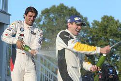 Ganador en GTLM Oliver Gavin, Corvette Racing, third place Lucas Luhr, BMW Team RLL