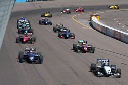 Start: Kyle Kaiser, Juncos Racing leads