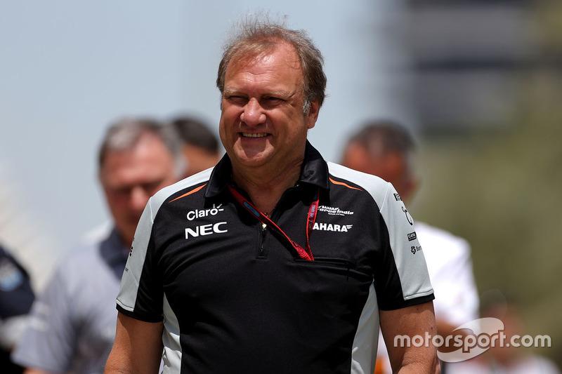 Robert Fernley, Sahara Force India F1, Teamchef