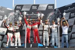 Le podium de la course principale en Am Pro