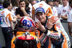Marc Marquez, Repsol Honda Team, Honda, fête sa victoire