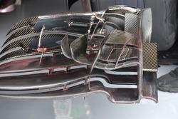 Fernando Alonso, McLaren MP4-31 detalle de ala delantera