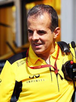 Ricardo Penteado, Renault Sport F1 Team, Betriebsleiter an der Strecke