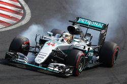 Verbremser: Lewis Hamilton, Mercedes AMG F1 W07 Hybrid