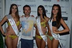 Luca Raggi y las tres clasificadas