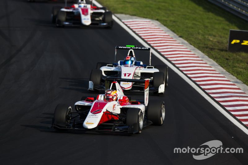 Charles Leclerc, ART Grand Prix y Ralph Boschung, Koiranen GP