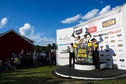 Winnaar GTLM: #4 Corvette Racing Chevrolet Corvette C7.R: Oliver Gavin, Tommy Milner