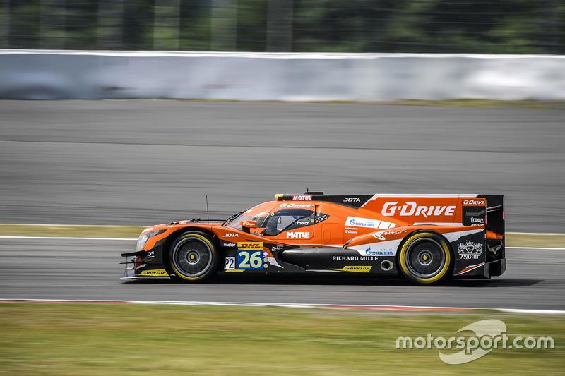 11. LMP2: #26 G-Drive Racing, Oreca 05 - Nissan: Roman Rusinov, Alex Brundle, René Rast
