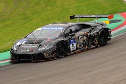 #5 FFF Racing Team by ACM, Lamborghini Huracan: Fu Songyang, Andrea Caldarelli
