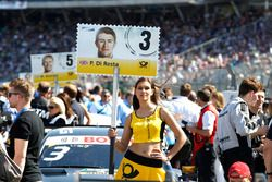 Grid girl of Paul Di Resta, Mercedes-AMG Team HWA, Mercedes-AMG C63 DTM