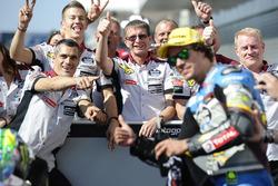 Troisième place Franco Morbidelli, Marc VDS