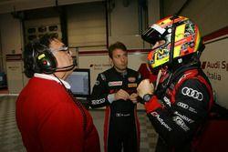 Marco Mapelli e Laurens Vanthoor, Audi Sport Italia