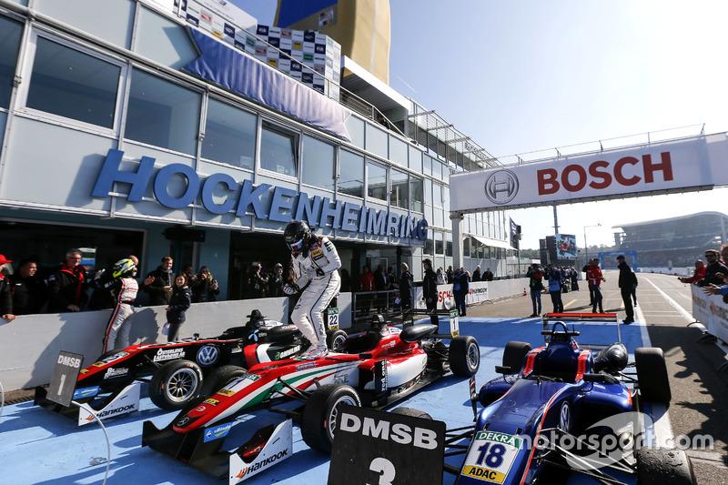 Ganador, Lance Stroll, Prema Powerteam Dallara F312 - Mercedes-Benz