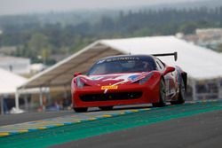 #77 Motor Service, Ferrari 458 Challenge Evo: Stephen Wyatt