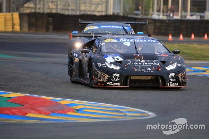 #5 FFF Racing Team by ACM Lamborghini Huracan GT3: Marco Attard, Matt Bell