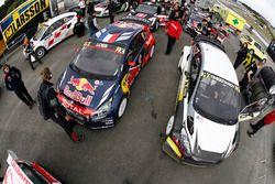 Sébastien Loeb, Team Peugeot Hansen, et Timur Timerzyanov, World RX Team Austria