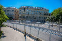 Circuito ciudad de Bakú curva 7