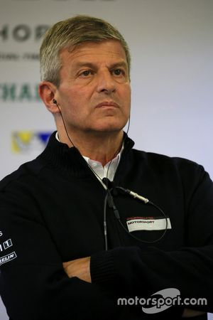 Fritz Enzinger Director de LMP1 Porsche Team