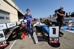 Le vainqueur Egor Orudzhev, Arden Motorsport