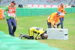 Edgar Pons, Paginas Amarillas HP 40 crash