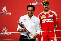 Sebastian Vettel, Ferrari (Right)