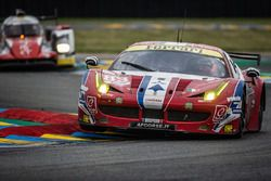 #83 AF Corse,Ferrari 458 Italia: François Perrodo, Emmanuel Collard, Rui Aguas