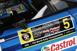 Detail, Mads Ostberg, Ola Floene, M-Sport Ford Fiesta WRC