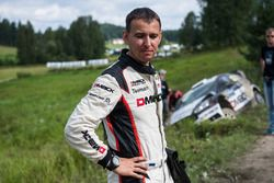 L'aut incidentata di Ott Tanak, Raigo Molder, DMACK World Rally Team