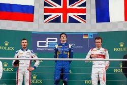 Alex Lynn, DAMS Sergey Sirotkin, ART Grand Prix e Arthur Pic, Rapax