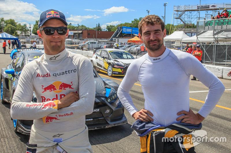 Mattias Ekström, EKS RX Audi S1, Timur Timerzyanov, World RX Team Austria Ford Fiesta ST