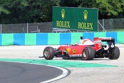 Kimi Raikkonen, Ferrari SF16-H se va de ancho