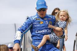Jamie McMurray mit Tochter Hazel