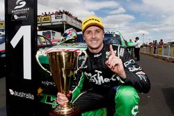Race winner Mark Winterbottom, Prodrive Racing Australia Ford
