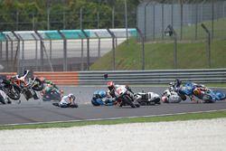 Philipp Oettl, Schedl GP Racing, Jorge Martin, Aspar Team Mahindra Moto3, Nicolo Bulega, Sky Racing