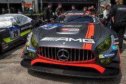 #30 AMG-Team HTP Motorsport, Mercedes-AMG GT3: Dominik Baumann, Stefan Mücke, Maximilian Buhk, Thoma