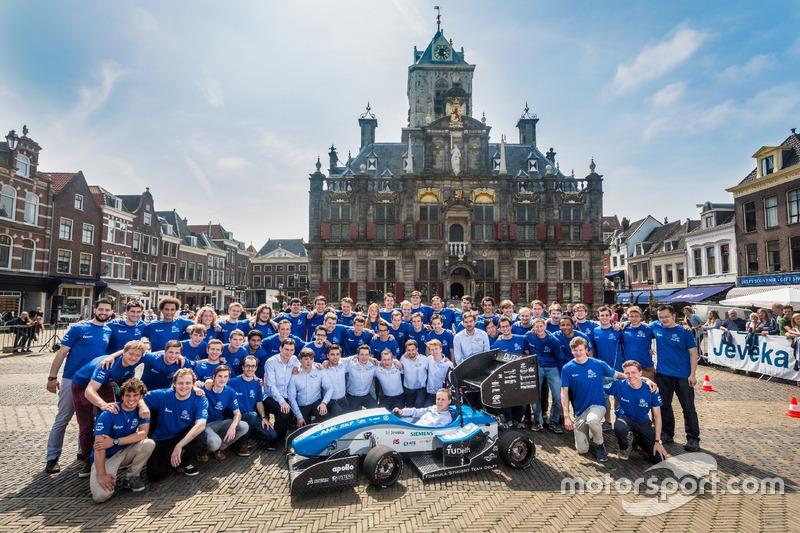Formula Student Team Delft, voorstelling DUT16