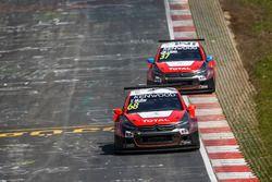Yvan Muller, Citroën World Touring Car Team, Citroën C-Elysée WTCC y José María López, Citroën World