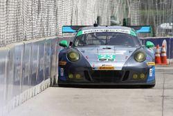 #23 Team Seattle/Alex Job Racing Porsche GT3 R : Mario Farnbacher, Alex Riberas