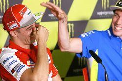 Andrea Iannone, Ducati Team, Aleix Espargaró, Team Suzuki Ecstar MotoGP