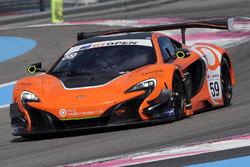 #59 Garage 59 McLaren 650S GT3: Michael Benham, Duncan Tappy