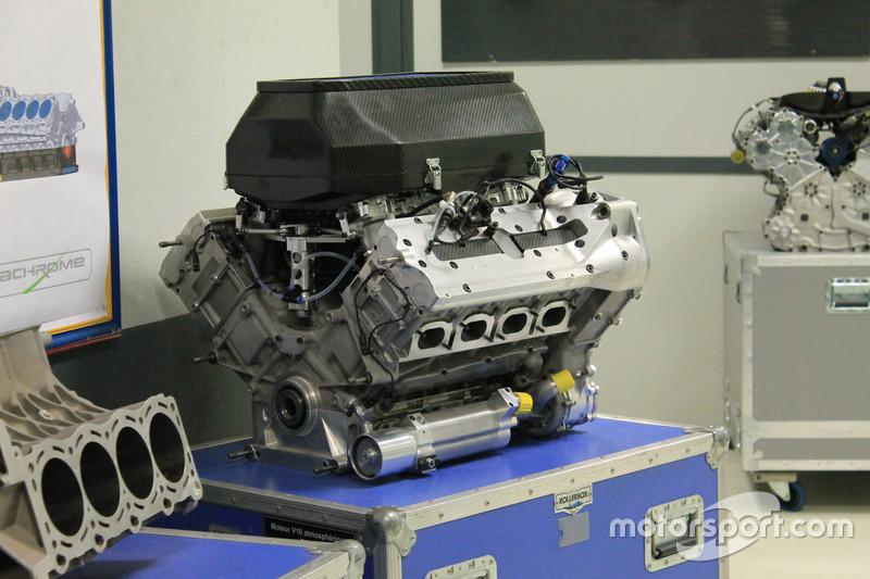 Un moteur V10 atmosphérique