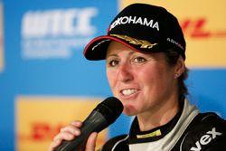 Press Conference: Sabine Schmitz, All-Inkl Motorsport, Chevrolet RML Cruze TC1