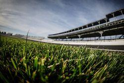 Gras im Infield des Indianapolis Motor Speedway