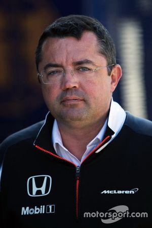 Eric Boullier, McLaren Renndirektor