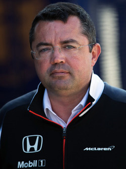 Eric Boullier, Directeur Sportif de McLaren