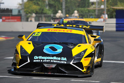 #14 Lamborghini R-EX: Andrew Taplin, Dean Canto