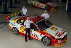 Scott Pye, Fabian Coulthard, and Dick Johnson