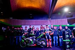 Jonathan Rea, Tom Sykes con la Kawasaki Ninja ZX-10R