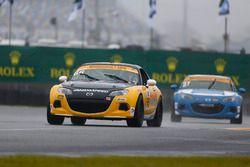 #66 Riley Racing Mazda MX-5: AJ Riley, Jameson Riley